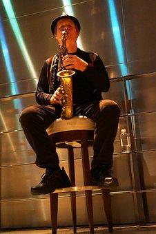Musician, Saxophone, Sound, Instrument