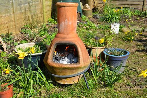 Clay Fire Pot, Stove, Garden, Pot, Belly, Fire, Clay