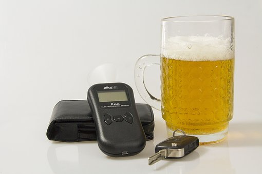 Breathalyser, The Police, Sobriety, The Driver Of The