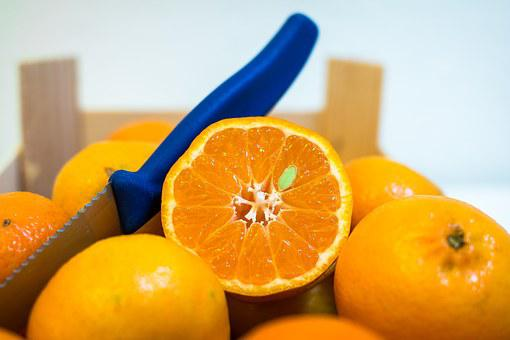 Clementines, Tangerines, Fruit, Orange, Vitamins