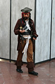 Pirate, Jack Sparrow, Actor, Costume, Character