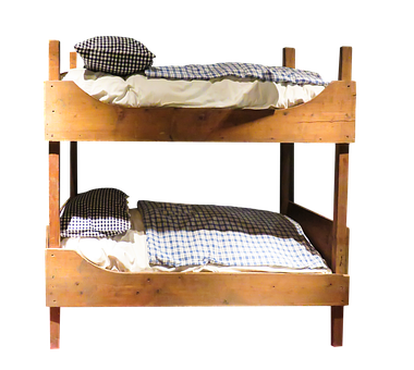 Furniture, Bed, Bunkbed, Png, Double Bed, Bedroom, Old