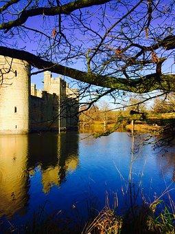 Bodium Castle, Castle, Medieval, Bodium, Ancient