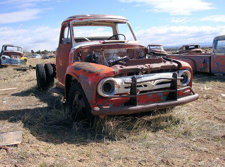 Car, Car Wreck, Oldtimer, Vehicle, Automotive