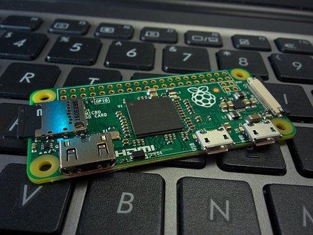 Raspberry Pi, Zero, Linux, Board, Computer, Component