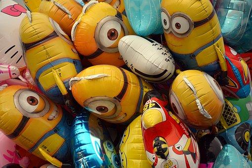 Balloons, Helium, Air, Colors, Fair, Festival, Couleirs