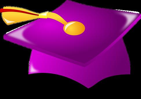 Graduate, Graduation, Hat, Student, College