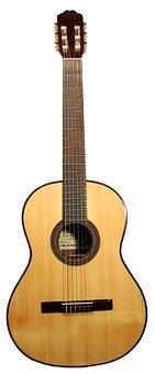 Guitar, Classic, Luthier, Spanish, Diapason, Box, Wood