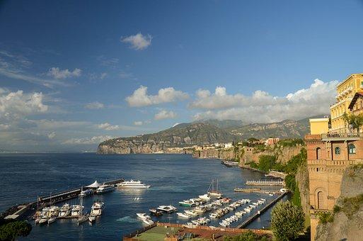 Sorrento, Italy, Marine, Landscape