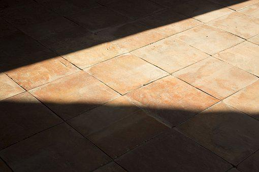 Light And Shadow, Floor Tiles, Staggered