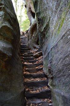 Stairway, Rock Stairway, Nature, Rock, Staircase, Stone