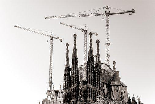 Sagrada Familia, Church, Cathedral, Sagrada, Gaudi