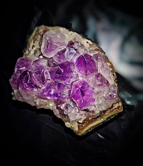 Amethyst, Druze, Quartz, Mineral, Semi Precious Stone