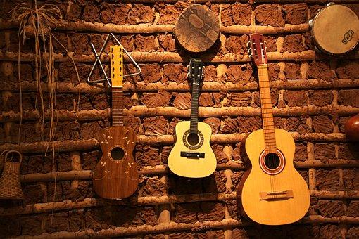 Folk, Guitar, Po, Instrument, Acoustic Guitar