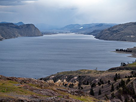 Kamloops Lake, British Columbia, Water, Lake, Canada