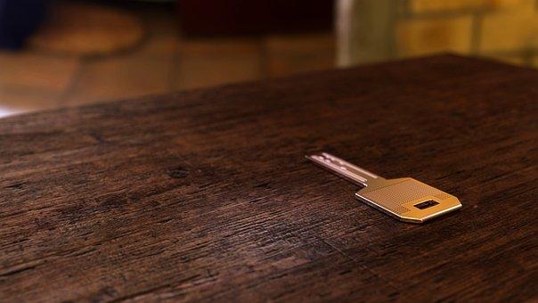 Key, Table, Chrome