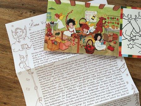 Letters, Father Christmas, Wish List, Christmas