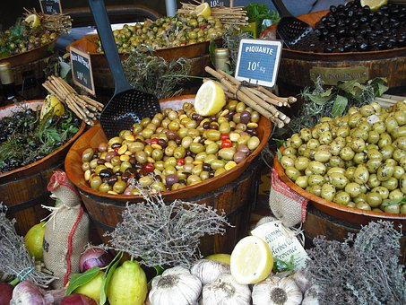Provence Market, Olives, France