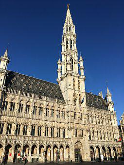 Grand Place, Town Hall, Brussels, Building