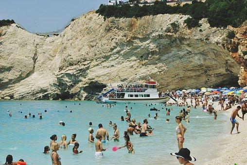 Lefkada, Greece, Greek, Island, Turquoise, Water
