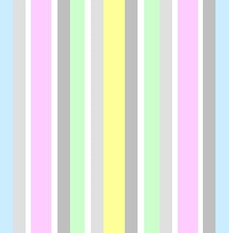 Stripes, Vertical, Pastels, Pink, Blue, Grey, White