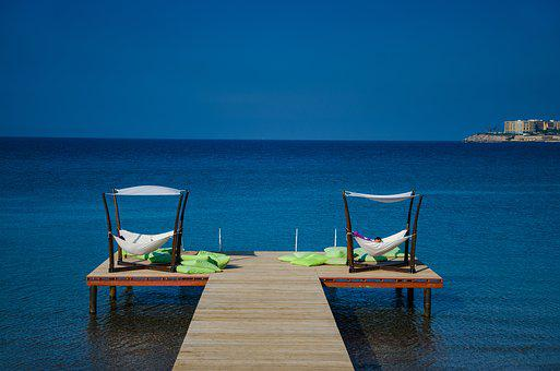 Sky, Sea, Blue, Wide, Deep, Nest, Landscape, Cyprus