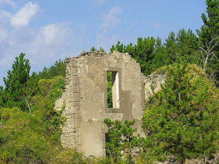 Wall, Ruins, Architecture, Old, Facade, Old Building