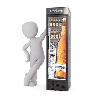 Beer, Refrigerator, Drink, Bottle, Box, Pack