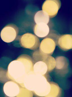Bokeh, Lights, Blur, Effect, Points, Background, Circle