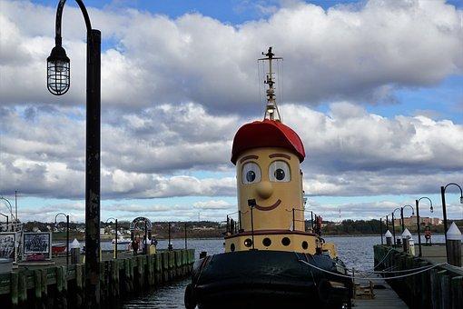 Boat, Halifax, Sky, Boot, Canada, Halifax Sky, Beach