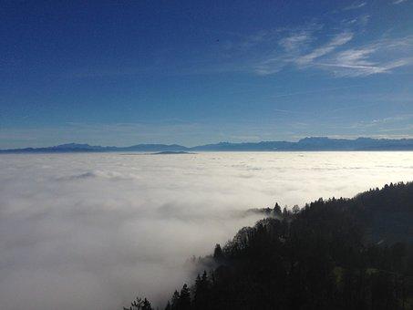 Zurich, Uetliberg, Sky, Nature