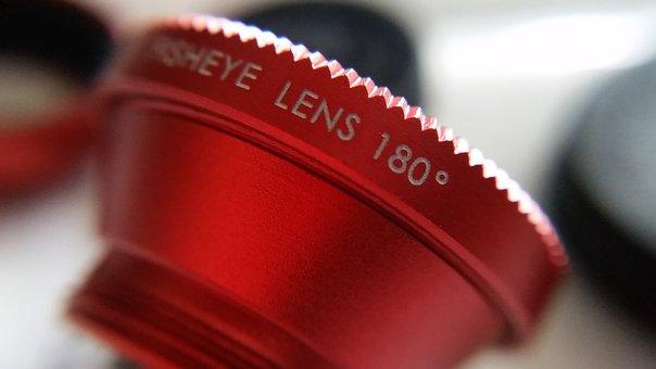 Lens, Lens Phone, Slip Yi, Wide-angle Lens, Phone