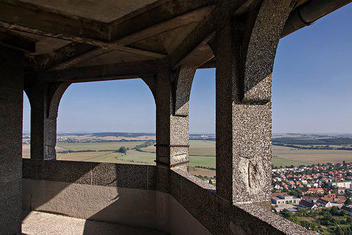 Smolenice, Slovakia, Tower, Castle