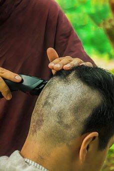 Theravada Buddhism, Shaving Hair, Ordination, Renounce