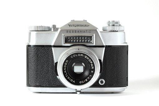 Analog, Voigtlander, Camera, Old, Vintage, Hipster
