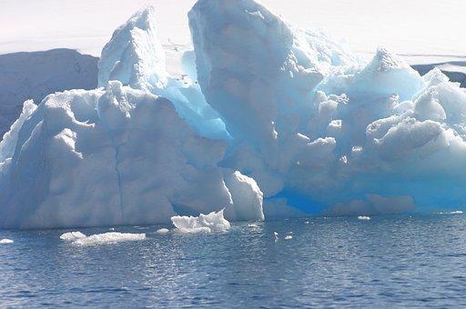 Ice, Iceberg, Antarctic, Water, Cold, Arctic, Nature