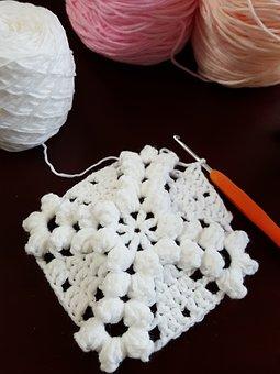 Crochet Hook, Knitting, Woolen Yarn, Patten, Diy