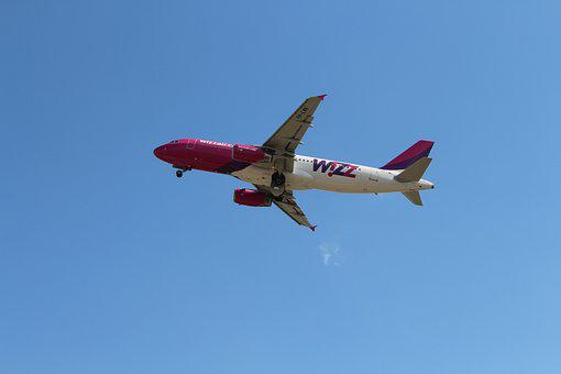 Sky, Air, Aircraft, Wizzair, Low Coast, Airlines