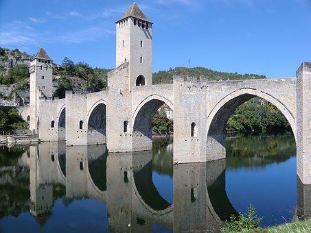 Arches, France, French, Architecture, Cahors