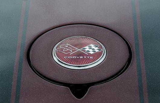 Chevrolet Corvette, Badge, Car, Corvette