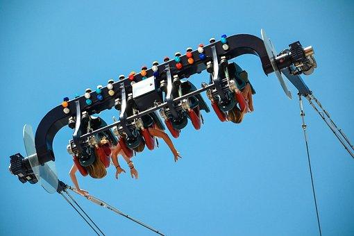 Amusement Park, Ride, Carnies, Fun, Acceleration, Speed