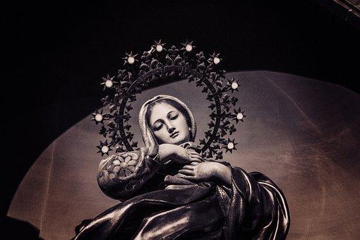 Virgin Mary, St, Church, Crown, Mass, Virgin, Chapel