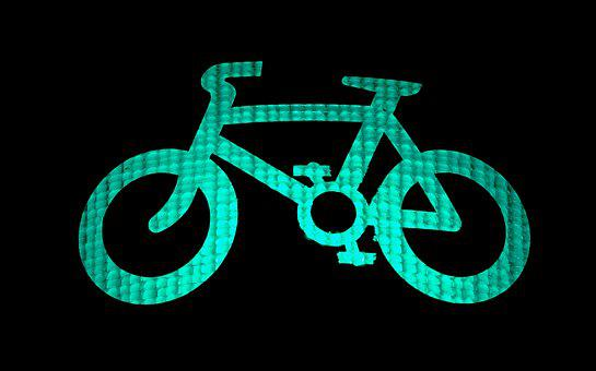 Cycle, Green, Light, Bicycle, Bike, Cycling, Go