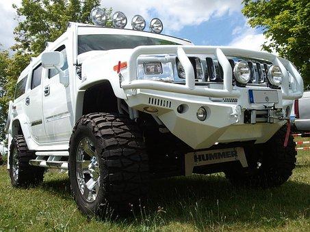 Lobster, Auto, All Terrain Vehicle, Us Showcar, White
