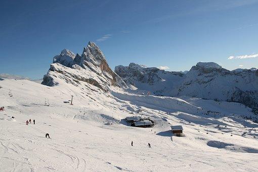Seceda, Val Gardena, Dolomites, Mountain, Landscape