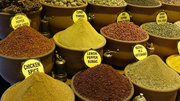 Spices, Food, Ingredient, Organic, Aroma, Flavor