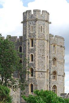 Windsor Castle, Lamp, Crown, England, Royal, Uk