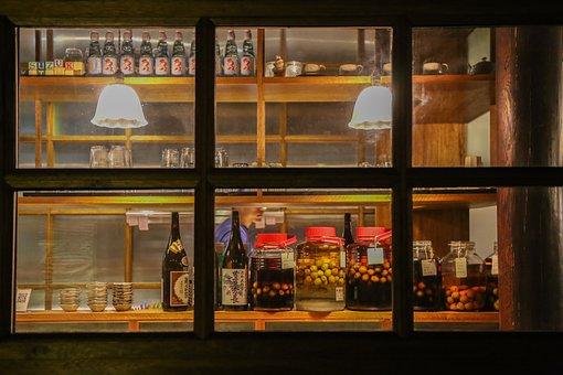 Beijing, Yang Mei Zhu Xie Jie, Suzuki Cafeteria, Bar