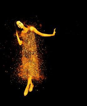 Woman, Beautiful, Young Woman, Dance, Move, Dress