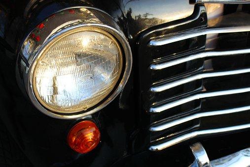 Car, Headlight, Vehicle, Auto, Automobile